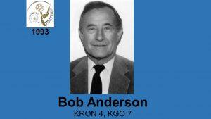 Anderson, B