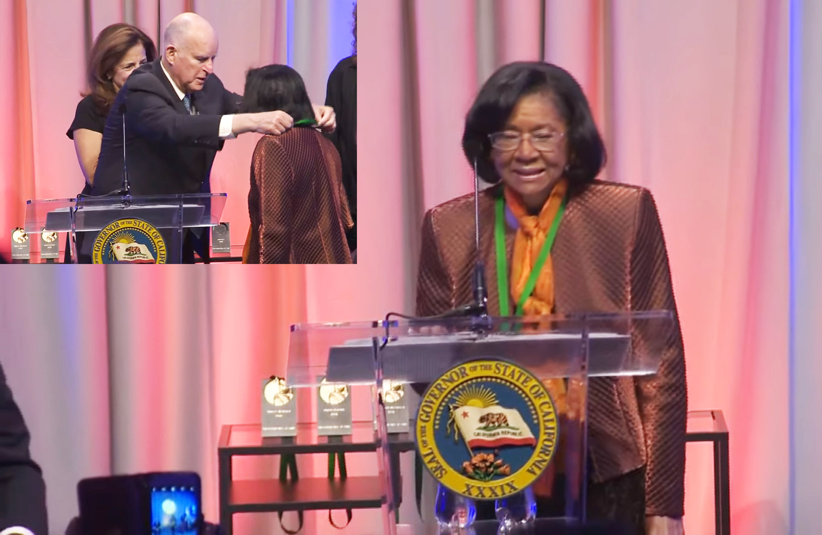 TV Journalist Belva Davis Honored by the Governor   San