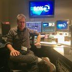 Steve Shlisky in his KTVU Office