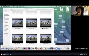 Shirin Bina Zoom Conference Screen Share