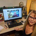 Joyce Mitchel at Marty's Zoom Tribute