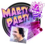 Marty Party Graphic