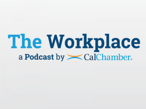 CalChamber The Workplace Podcats Logo